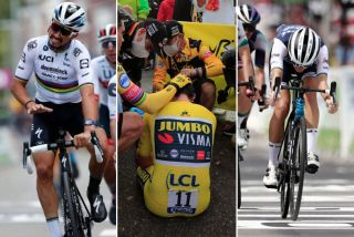 Julian Alaphilippe, Dylan Groenewegen and Lizzie Deignan were part of the dramatic stories in 2020 road cycling