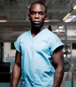 Holby's Antoine: 'Malick detests racists, usually'