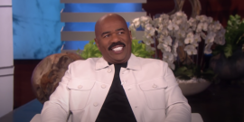 Steve Harvey Is The Latest Celebrity Speaking Out To Defend Ellen DeGeneneres