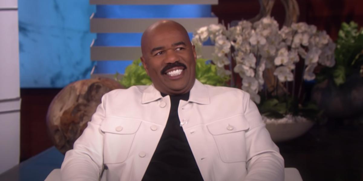 Steve Harvey Is The Latest Celebrity Speaking Out To Defend Ellen DeGeneneres