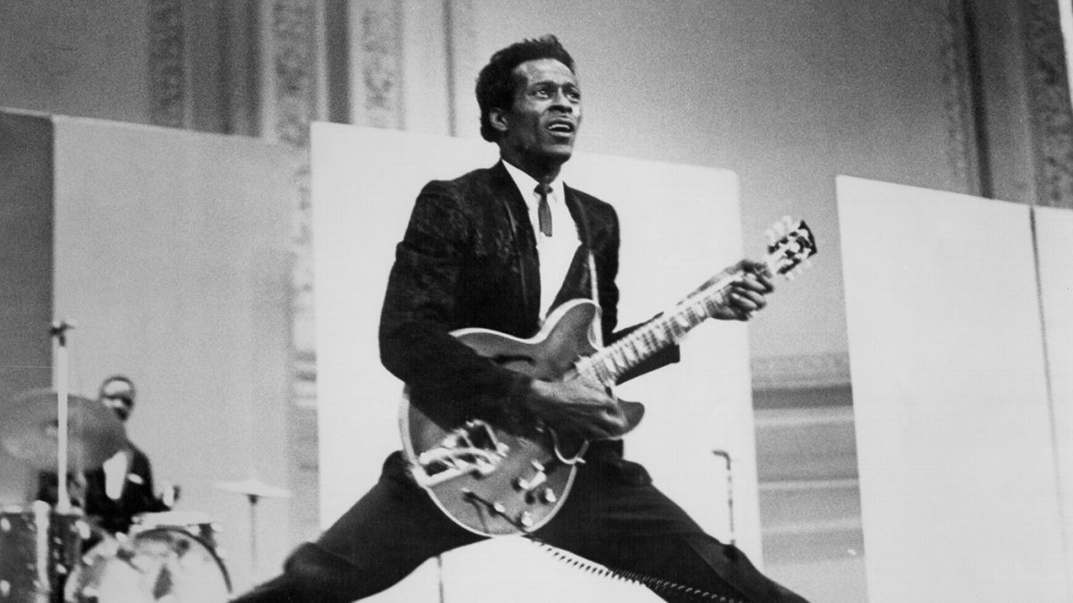 Learn from the master with these Chuck Berry-style blues licks