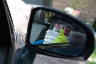 HitchBOT catches a ride.