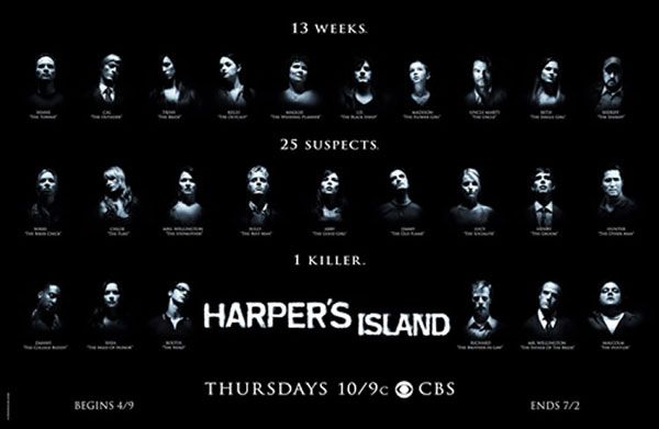 CBS Premieres New Murder Mystery Harper's Island This April #6605