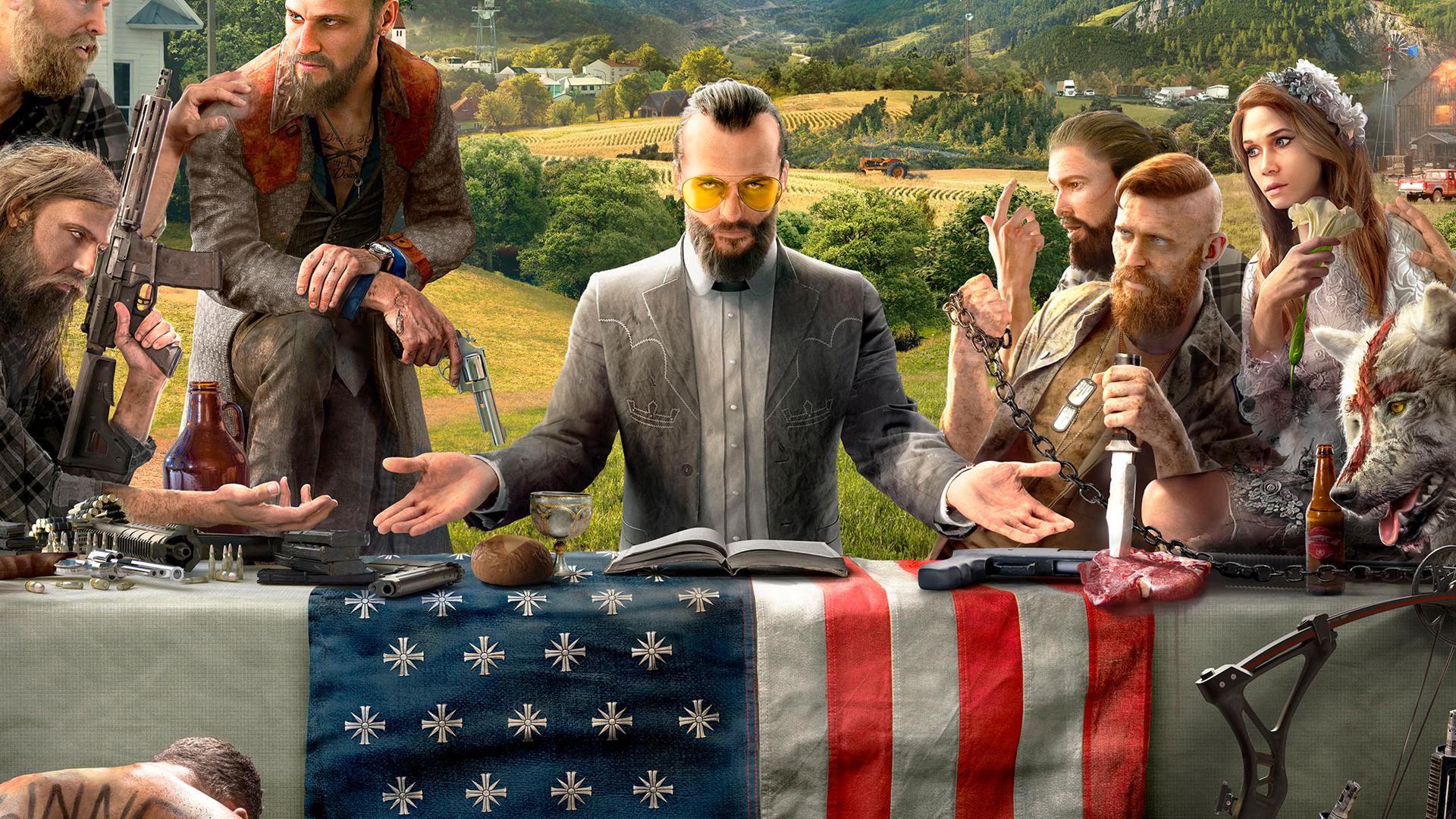 Meet The Villainous Seed Family In Four New Far Cry 5 Teasers Pc