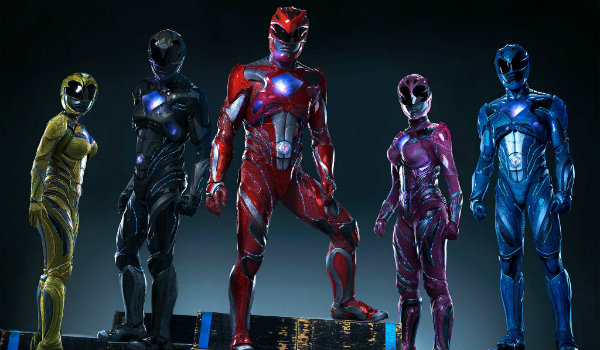 Power Rangers Suits