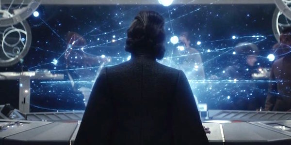 General Leia from the Force Awakens teaser