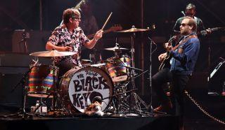 The Black Keys perform live in Atlanta, Georgia