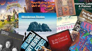 montage of prog books