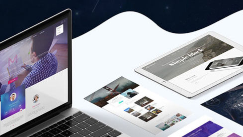 Make your site shine with professionally made themes