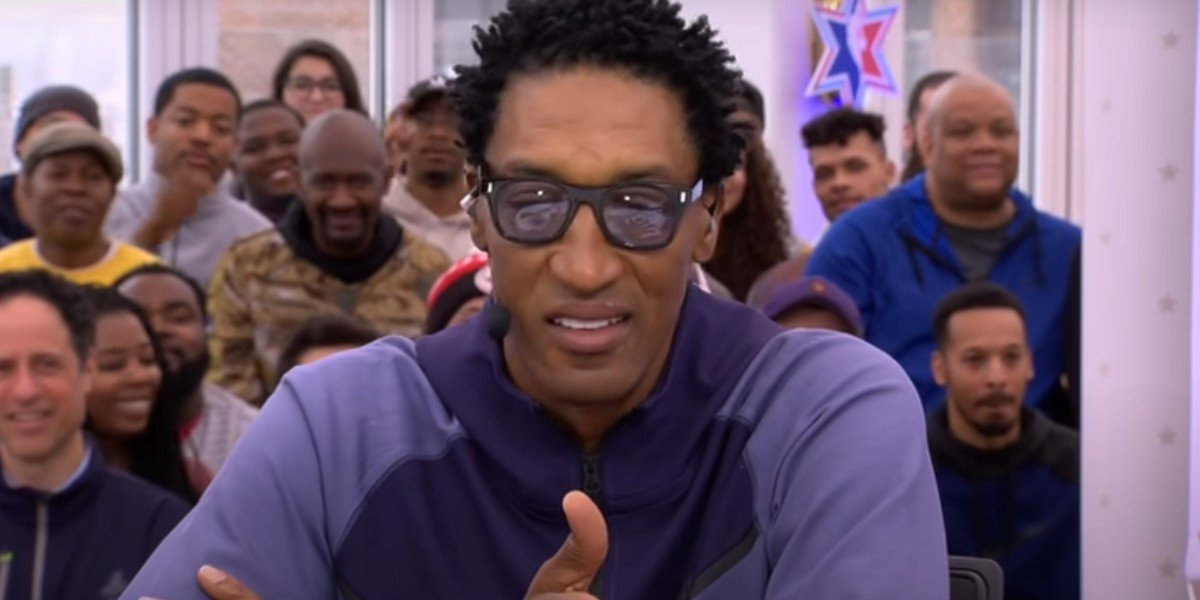 Scottie Pippen on ESPN's First Take
