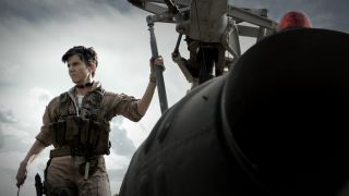 """Tig Notaro as Peters in the Netflix film """"Army of the Dead."""""""