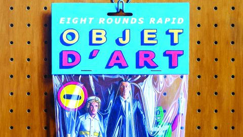 Cover art Eight Rounds Rapid - Objet D'Art album