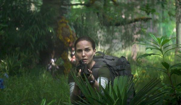 Annihilation Natalie Portman stalks something in the Shimmer