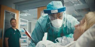 Osi Okerafor plays Matthew Afolami in Casualty