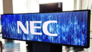 NEC logo.