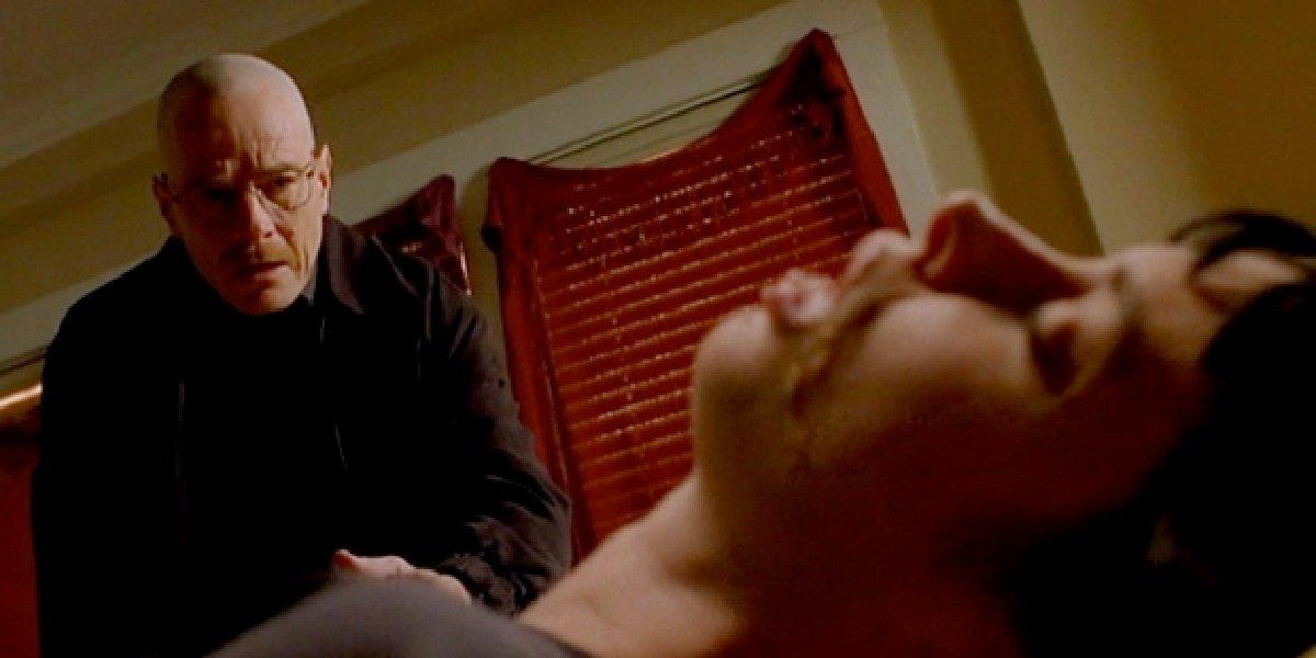 Walt watching Jane die in Breaking Bad.