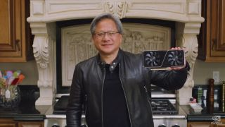 Jensen Huang viser frem RTX 3070