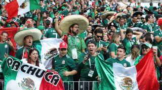 Mexico fans tremor