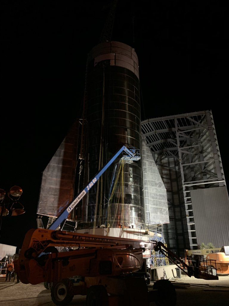 SpaceX's Next Starship Prototype Nearly Finished, Elon Musk Says (Photos)