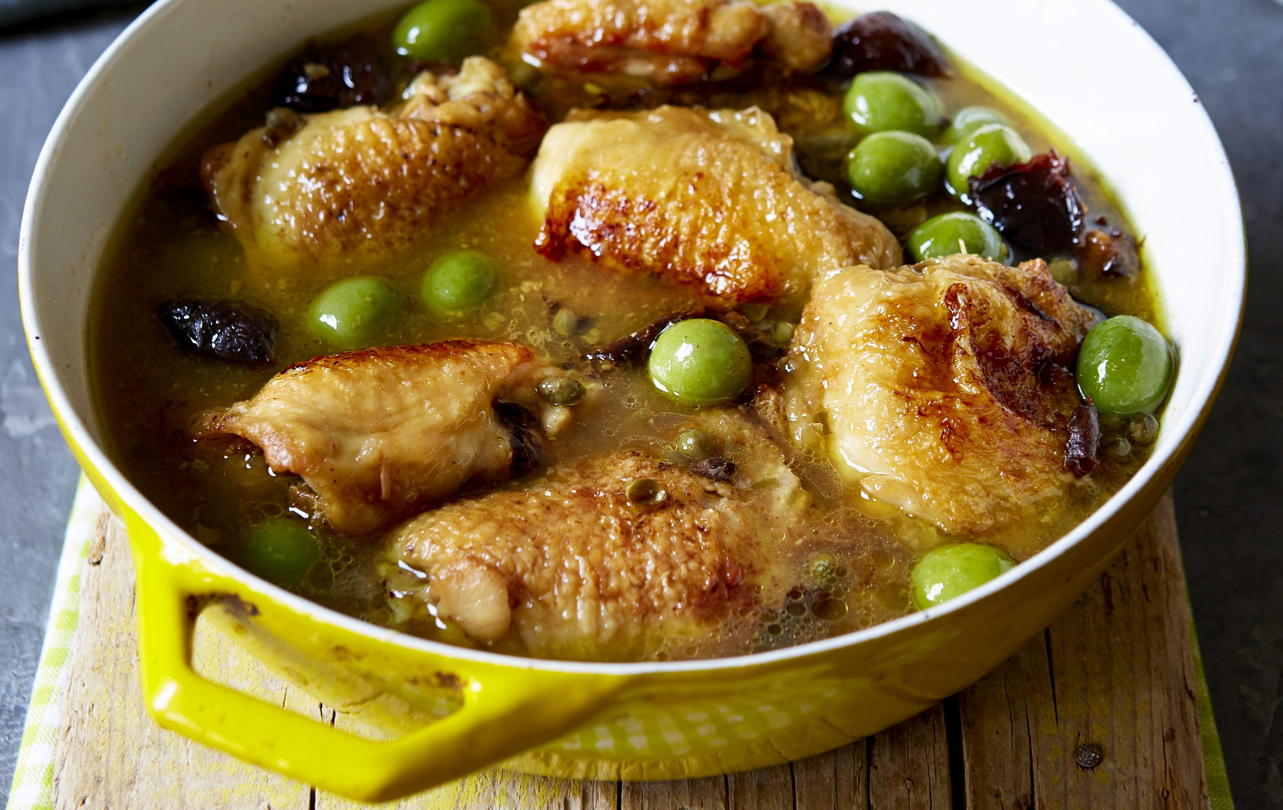 If you need a midweek family dinner then give this chicken with prunes recipe a try