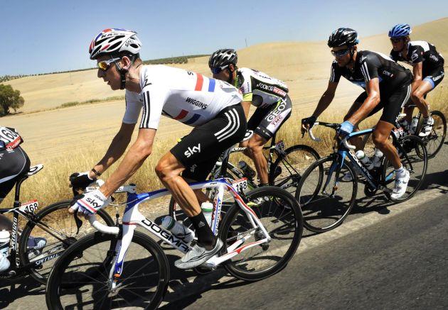 Bradley Wiggins, Vuelta a Espana 2011, stage six