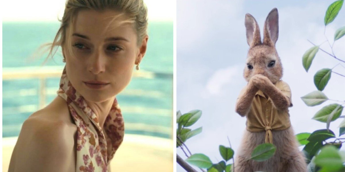 Elizabeth Debicki - Tenet/ Mopsy Rabbit - Peter Rabbit