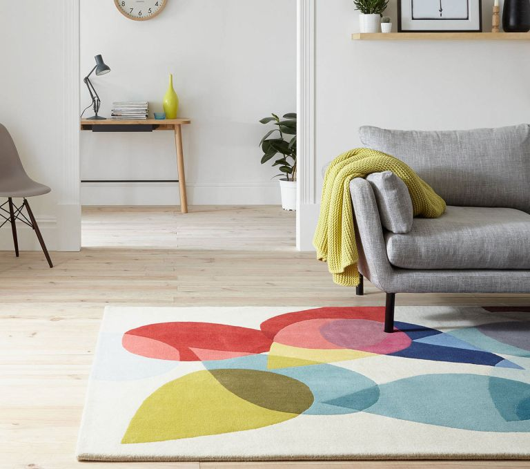 Scandinavian rugs UK: Sheepskin rugs from Dunelm