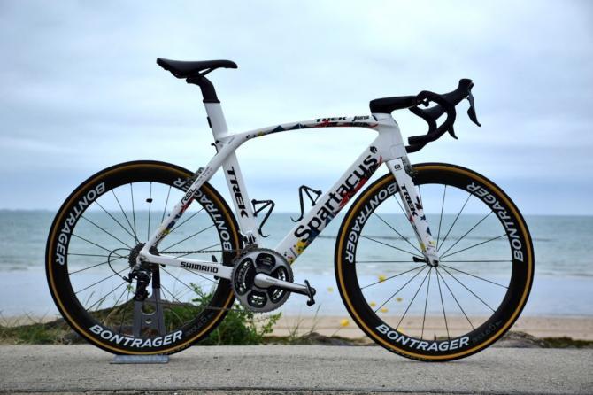 Fabian Cancellara's Trek Madone for the 2016 Tour de France