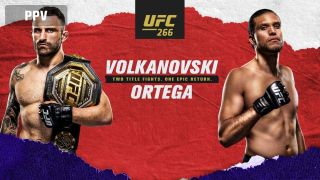 Poster for UFC 266
