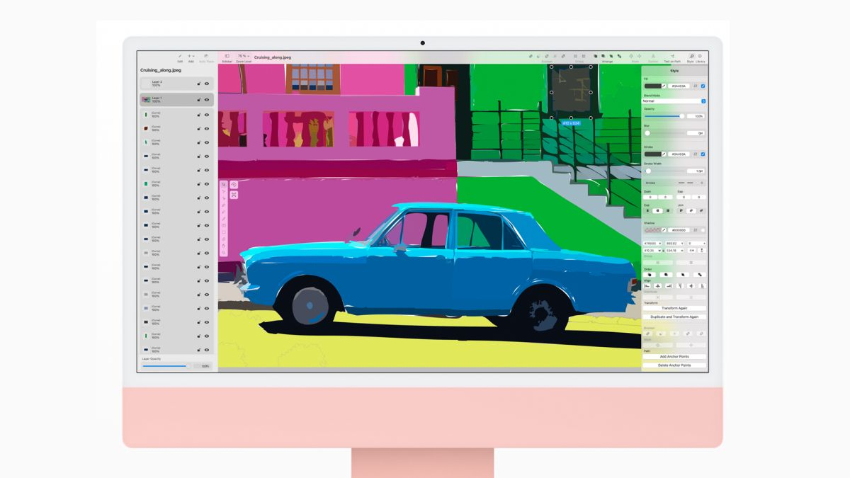 With the new 2021 iMac, Apple is back to its fun, retro best - Creative Bloq