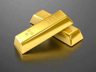 gold reserves, bars of gold