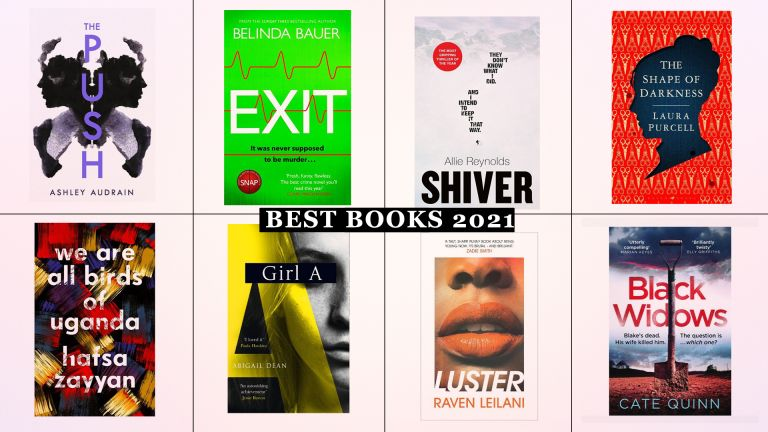 Best Books 2021 roundup including 8 different book covers from hotly anticipated reads