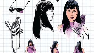 Hawkeye #1 variant cover