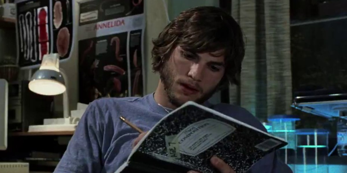 Ashton Kutcher in The Butterfly Effect