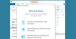 "How to securely store files in OneDrive's ""Personal Vault"""