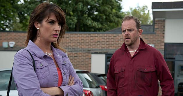 Outside the clinic, Dan Spencer demands to know what Kerry Wyatt's doing there, fearing she's ill. Will Kerry come clean in Emmerdale?