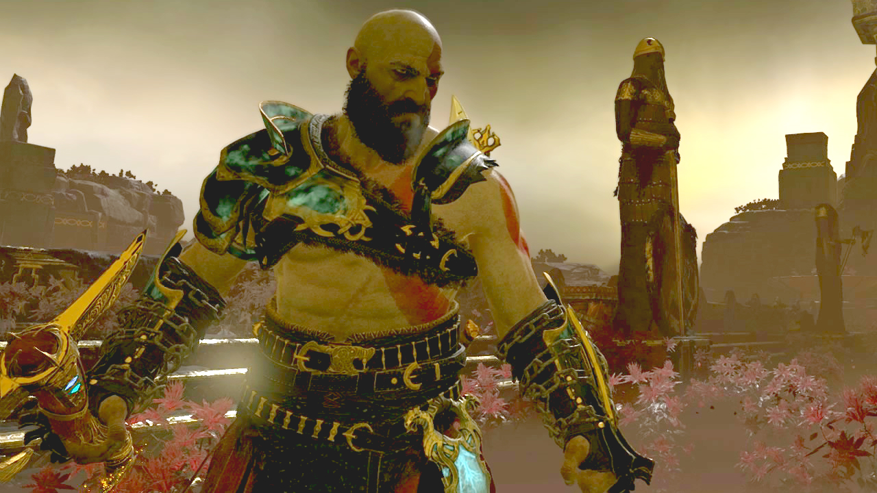 god of war new game plus best armor