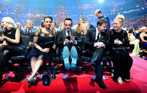 Lisa Armstrong, Ant McPartlin, Declan Donnelly and Ali Astall