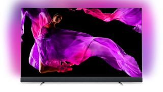 Cyber Monday TV deal: Philips flagship 4K OLED with B&W speakers