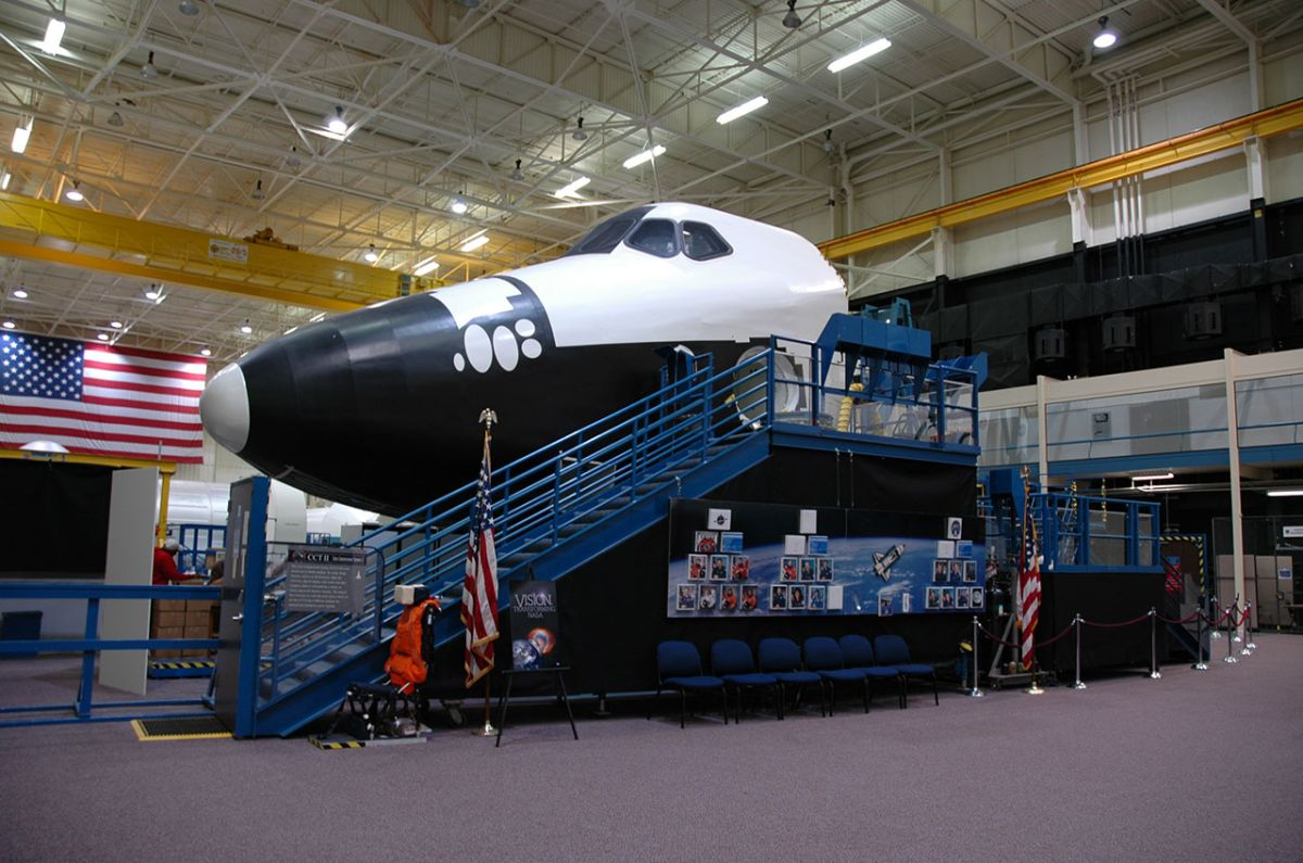 Tulsa Air and Space lands last of NASA's shuttle crew cabin trainers