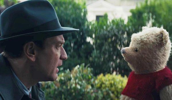 Disney's Christopher Robin Ewan McGregor comes face to face with Pooh Bear