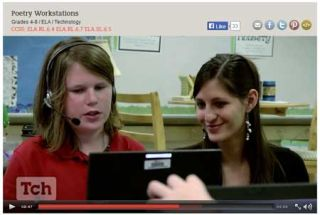 From the Classroom: Best Tech Practice Video of the Week- Poetry Workstations