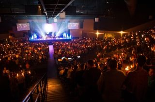 Crossroads Church Corona Upgrades with Q-Sys Core 500i and PowerLight 3 Amplifiers