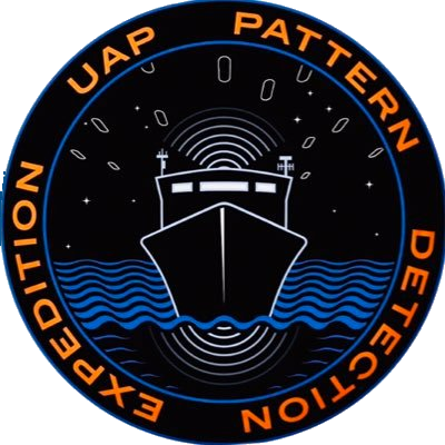 Logo of the UAPx expedition, which involves military veterans, physicists, as well as research scientists and trained observers. They want to provide unassailable scientific evidence that UAP objects are real, findable and knowable. (Image credit: DOD/U.S. Navy)