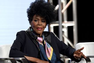 Cicely Tyson of 'Cherish The Day' speaks onstage during the OWN: Oprah Winfrey Network portion of the Discovery, Inc. TCA Winter Panel 2020