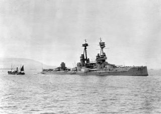 Archaeologists collected information about three British war graves, including HMS Vanguard (shown here).