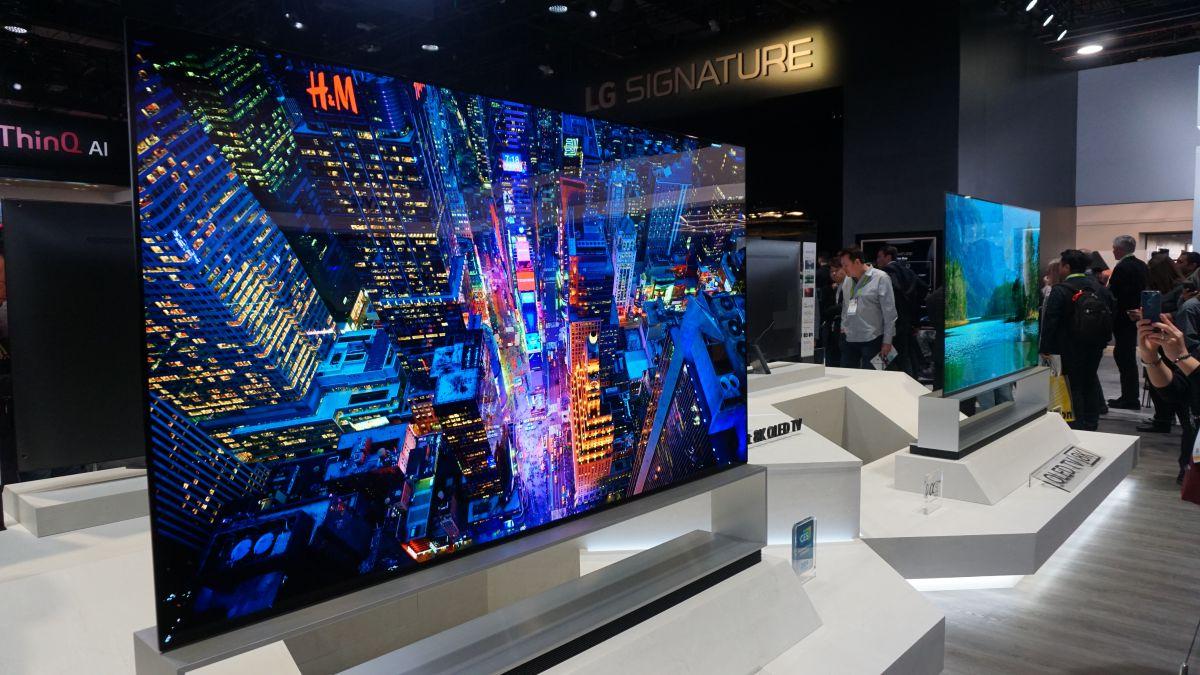 World's first 8K OLED TV goes on sale | TechRadar