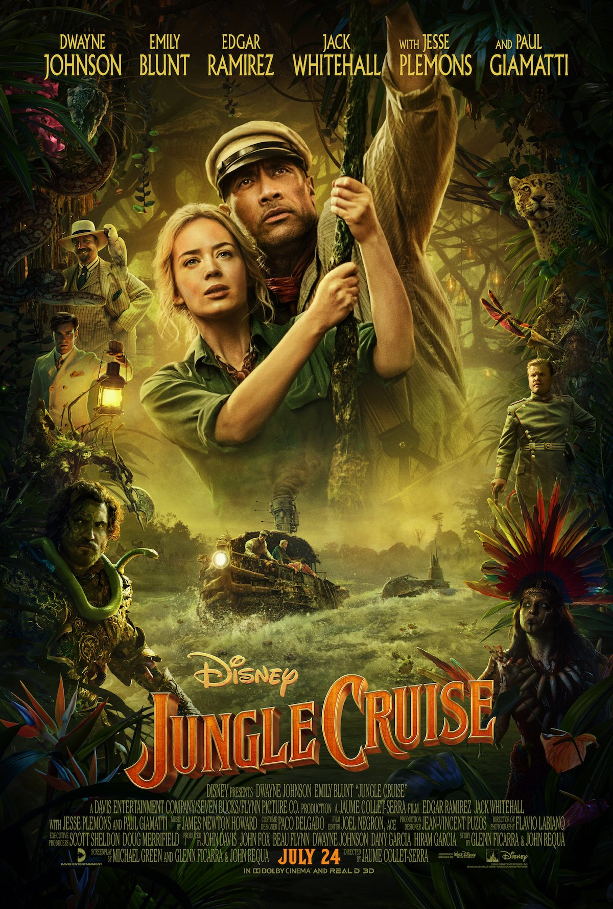 Jungle Cruise's new poster