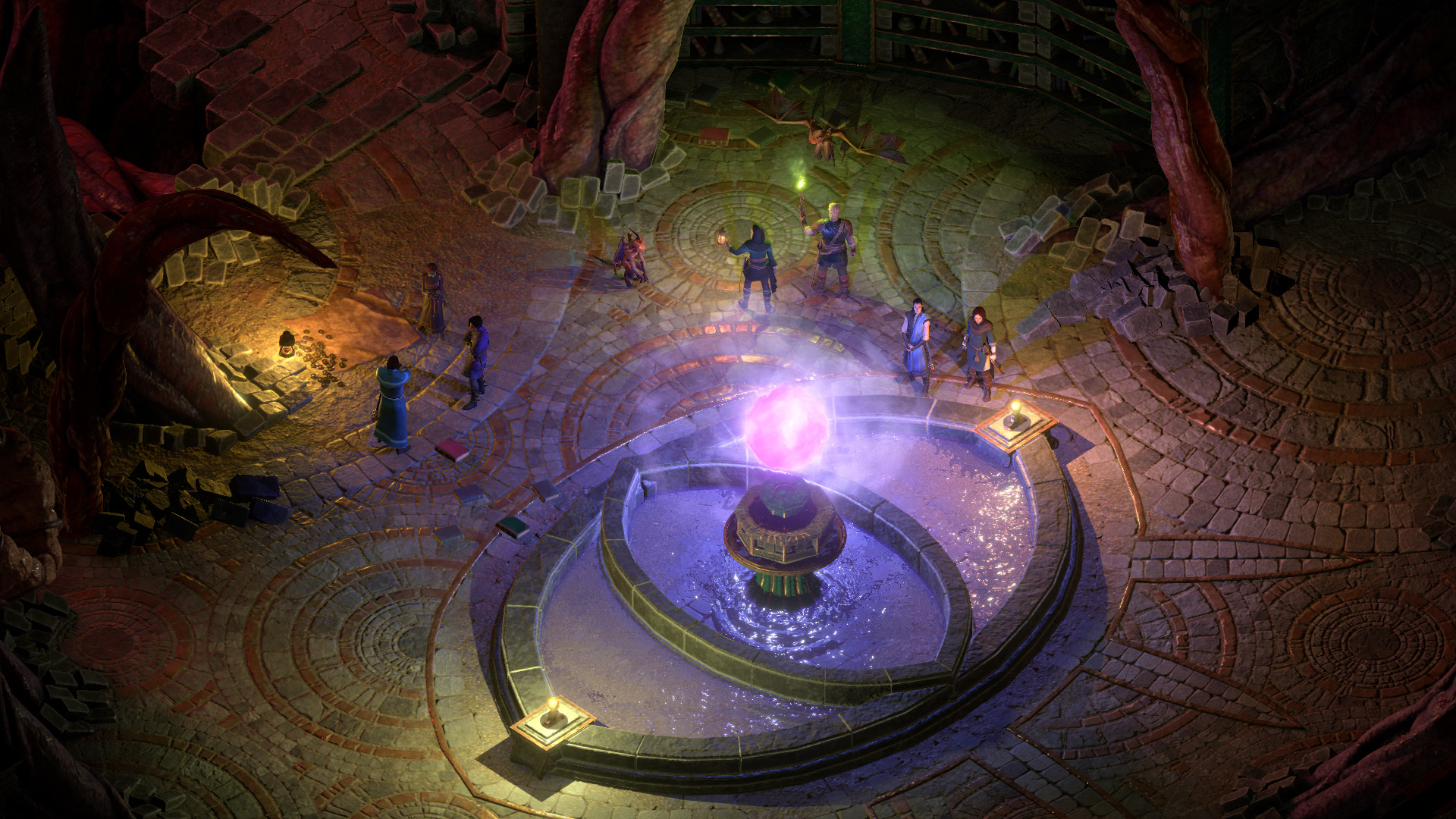Pillars Of Eternity 2 S Final Dlc Is A Dungeon On The Flesh Of A