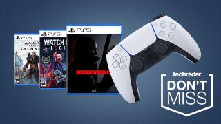 PS5 deals cheap games DualSense controller sales